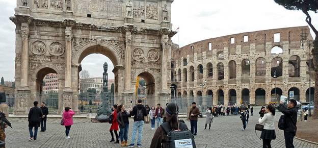 """""""CARE"""" untersucht ultrafeine Luftverschmutzung und Ruß in Rom. (Foto: Kay Weinhold, TROPOS)"""