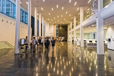 Die Universität am Augustusplatz war wieder eine der zentralen Attraktionen der Langen Nacht der Wissenschaften. Foto: Tilo Arnhold, TROPOS