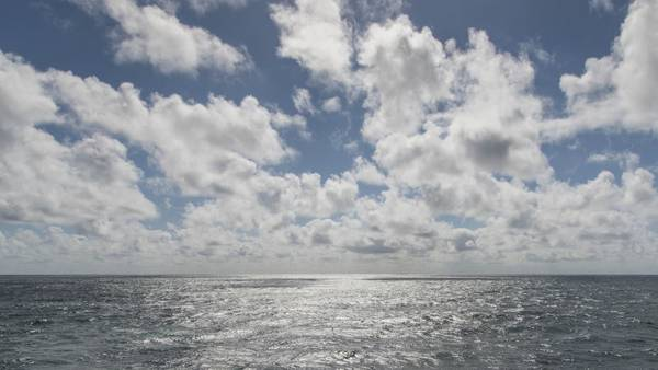 Wolken über dem Atlantik. Foto: Tilo Arnhold, TROPOS