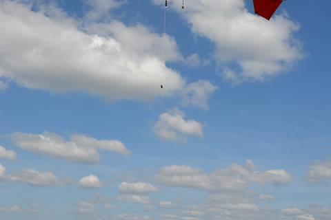 Impressionen vom Ballonaufstieg am Morgen des 17. Juni. Foto: Konrad Müller/