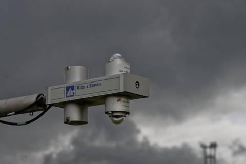 Dunkle Wolken - untrügliches Zeichen für die nächsten Schauer. Foto: Tilo Arnhold/ TROPOS