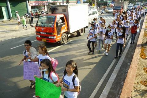 19.05.15: Der Walk for Clean Air...