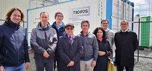 Official opening of DACAPO-PESO in Punta Arenas. Photo: Comunicaciones UMAG