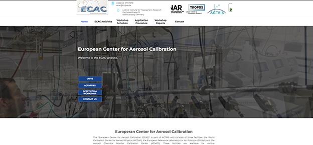 European Center for Aerosol Calibration (ECAC)
