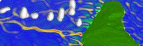 Einfluss von Inseln auf atmosphärische Strömungsmuster und Wolkenbildung mittels moderner Messverfahren und numerischer Modellierung.