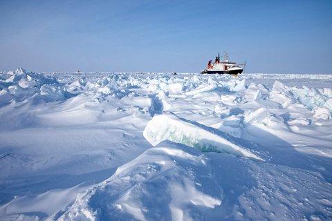 FS Polarstern von MET City aus gesehen. (Foto: Michael Gutsche)