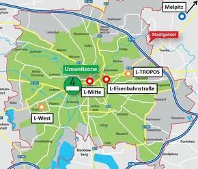Umweltzone Leipzig Karte.Zur Wirksamkeit Der Umweltzone Leipzig Leibniz Institut Für