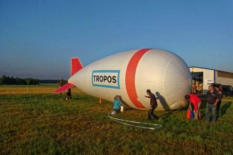 Impressionen vom Ballonaufstieg am Morgen des 17. Juni. Foto: Thomas Tuch/ TROPOS