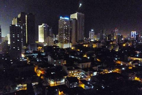 17.05.15: Das Unser Tag endet mit einem Blick über Manila.