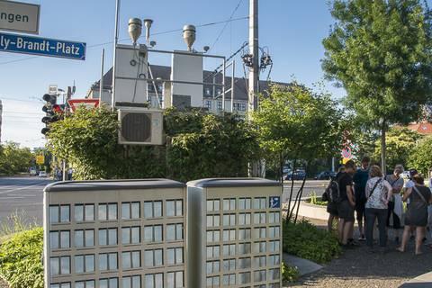 Und jede Menge Fragen zur Luftqualität in Leipzig galt es zu beantworten.