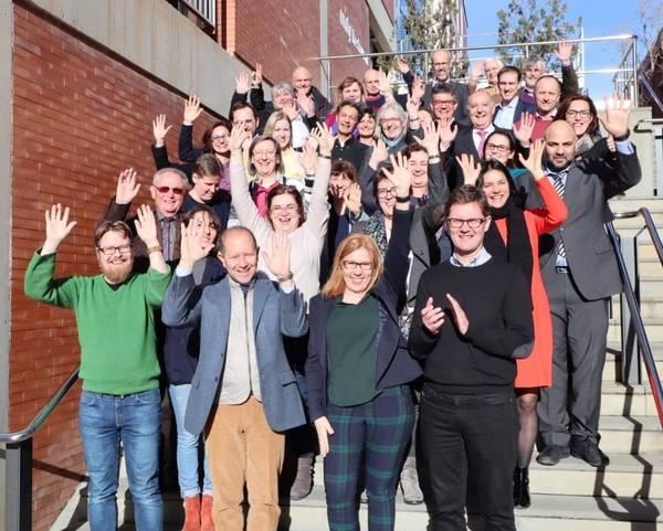 Meeting of Interim ACTRIS Council (IAC) in Barcelona. Photo: Niku Kivekäs, FMI.