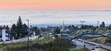 Traffic density, wind and air stratification influence the pollution with the air pollutant nitrogen dioxide, according to the conclusion of a TROPOS study commissioned by the LfULG, for which data from 29 stations in Saxony were evaluated - including Dresden. Photo: Burkhard Lehmann, LfULG