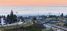 Verkehrsdichte, Wind und Luftschichtung beeinflussen die Belastung mit dem Luftschadstoff Stickstoffdioxid, so das Fazit einer TROPOS-Studie im Auftrag des LfULG, für die Daten von 29 Stationen in Sachsen ausgewertet wurden – darunter auch Dresden. Foto: Burkhard Lehmann, LfULG
