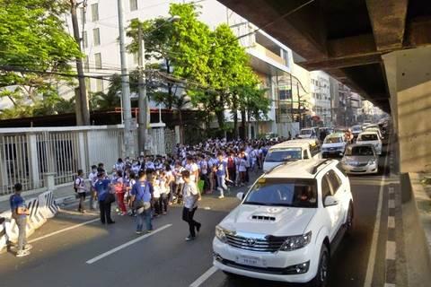 19.05.15: Und los geht der Marsch...