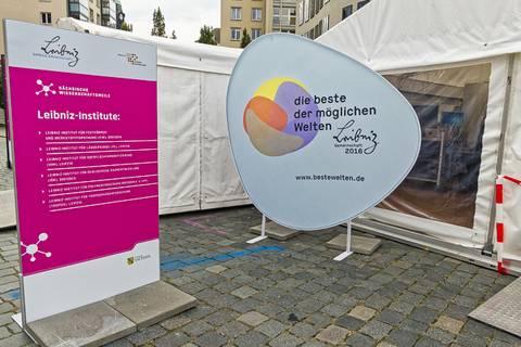 """Im Leibniz-Jahr geht es natürlich auch um die """"Beste der Welten"""". Foto: Beate Richter, TROPOS"""