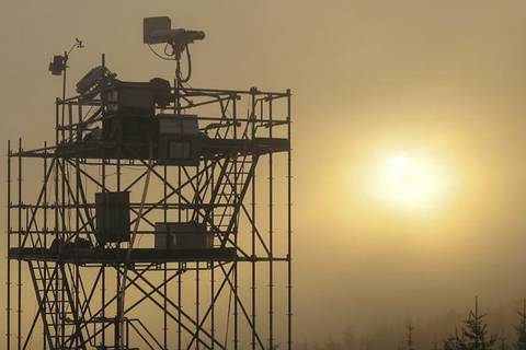 Wolkenchemie (Foto: Stephan Mertes, TROPOS)