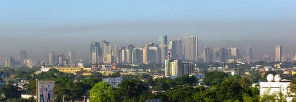 Smog in Manila. Photo: Wolfram Birmili/ TROPOS