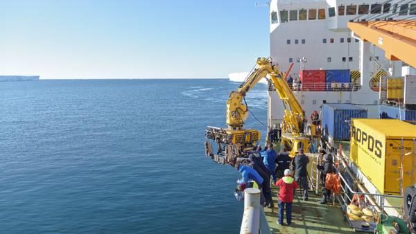 ROPOS steht für Remotely Operated Platform for Ocean Sciences. Foto: Silvia Henning, TROPOS
