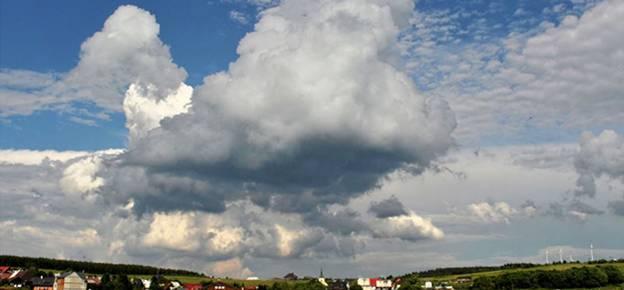 """2017 steht der Welttag unter dem Motto """"Wolken entdecken"""" - Leipzig als Zentrum der Wolkenforschung. Wo und wie forscht TROPOS dazu? Ein aktueller Überblick. (Foto: Tilo Arnhold, TROPOS)"""
