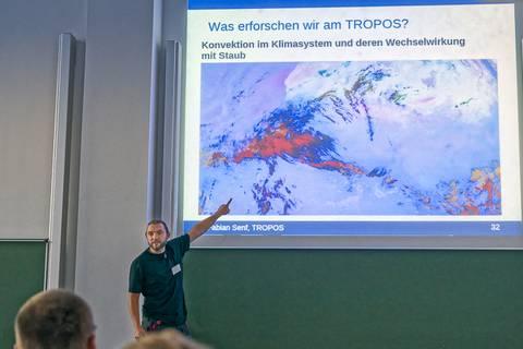Dr. Fabian Senf (TROPOS): Schneller als der Blitz? Gewitterfrüherkennung per Satellit