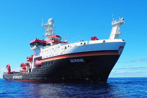 FS SONNE im Pazifik (Foto: Roman Kroke/UFZ/2019)