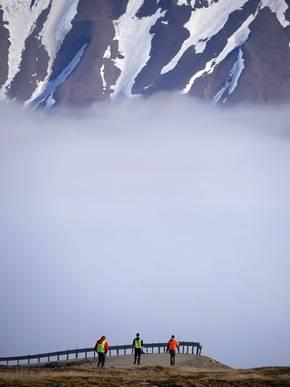 Fog - taken from top of the Advendsdalen. Photo: André Ehrlich, Universität Leipzig
