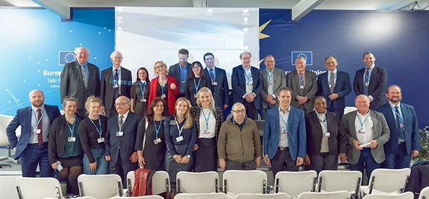 "TROPOS participated in the UN Climate Change Conference together with partner institutions. The title of the side event was ""Sustainable solutions to combat climate change: contribution of engineers and reducing air pollution"". Programme, presentations and photos. (photo: Tilo Arnhold, TROPOS)"
