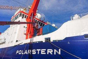 Kernstück der Atmosphären-Messungen wird die Expedition PS106 der Polarstern im Mai/Juni sein. Foto: Tilo Arnhold, TROPOS