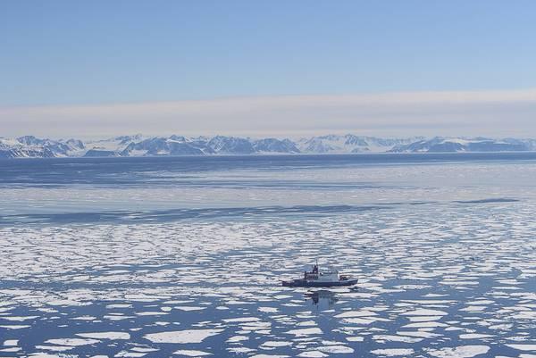 Nach vier Wochen Arktis-Expedition ging Ende Juni der erste Fahrtabschnitt von PS106 in Spitzbergen zu Ende. Dort war die Polarstern vor Anker gegangen, um einen Teil des Team auszutauschen. Foto: Tobias Donth, Universität Leipzig