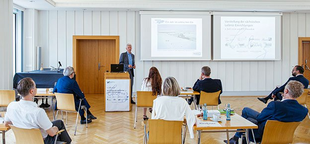 Presentation of the Saxon Leibniz Institutes on 02.07.20 at the IPF in Dresden