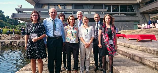 Die Leibniz-Delegation beim STS-Forum in Kyoto. Foto: Leibniz-Gemeinschaft
