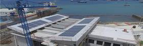 Aktuelle Luftaufnahme des Ocean Science Centre Mindelo, Kap Verde. Foto: Filipe Mandl, GEOMAR