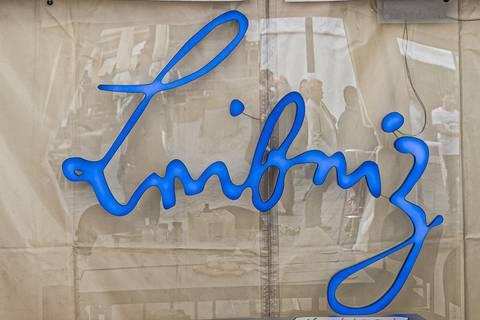 Leibniz-Zelt auf der Wissenschaftsmeile. Foto: Gerald Spindler, TROPOS