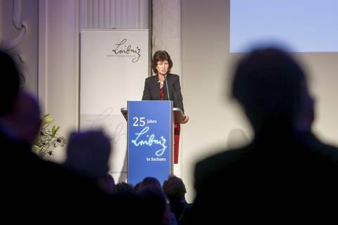 Grußwort von Dr. Eva-Maria Stange (Sächsische Staatsministerin für Wissenschaft und Kunst)