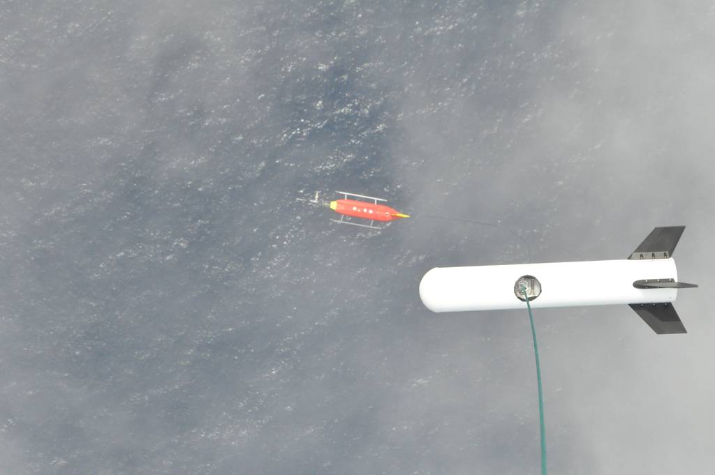 ACTOS with SMART-Helios over the Ocean