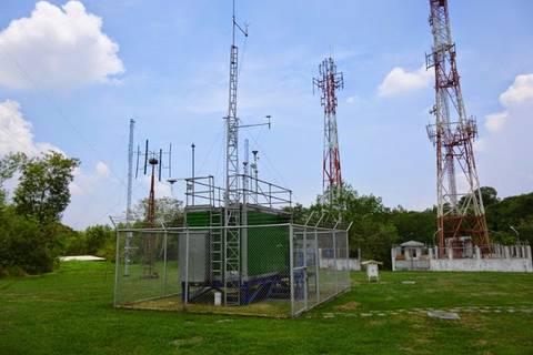 12.05.15: Offizielle Messstation des Staates - außer Betrieb.