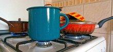 Die Belastung mit Feinstaub hängt stark von den Aktivitäten in der Wohnung wie Kochaktivitäten oder Heizen ab. Foto: Tilo Arnhold, TROPOS