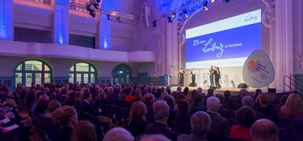 25 years Leibniz in Saxony: The festive event at 6th February 2017 in pictures.