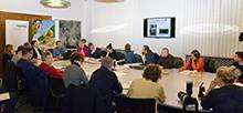 """Das Landesumweltamt Sachsen (LfULG) und das Leibniz-Institut für Troposphärenforschung (TROPOS) stellten der Messestadt bei der Vorstellung ihres Abschlussberichts zur """"Wirkung der Umweltzone auf die Luftqualität"""" eine positive Bilanz aus. Foto: Tilo Arnhold/TROPOS"""