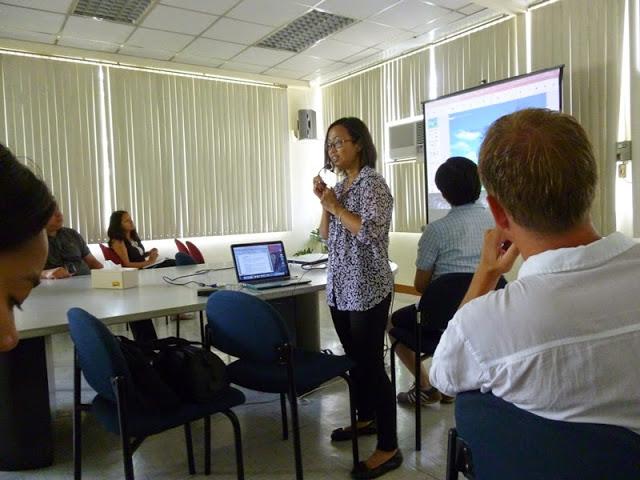 12.05.15: Besuch bei unseren Gastgebern vom Manila Observatory