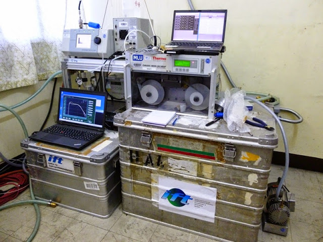 13.05.15: TROPOS-Messgeräte im Manila Observatory