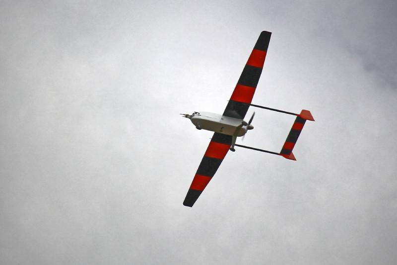 ALADINA bei einem Messflug. Foto: Barbara Altstädter, TU Braunschweig