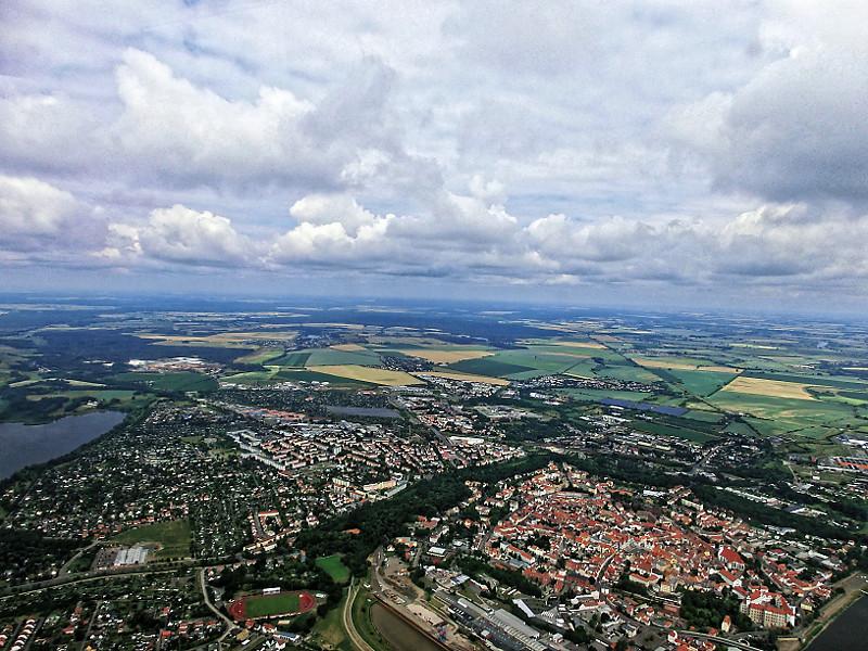 Heute gibt es trotz vieler Wolken einen Meßflug für ACTOS. Foto: Birgit Wehner/TROPOS