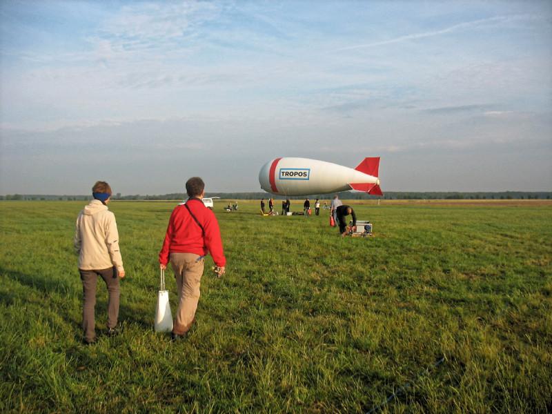 Wieder schönes Wetter für einen Ballonaufstieg am frühen Morgen. Foto: Janine Lückerath/ Universität Bayreuth