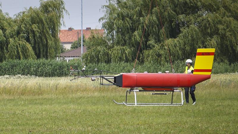 …und setzt sicher auf. Foto: Tilo Arnhold/TROPOS