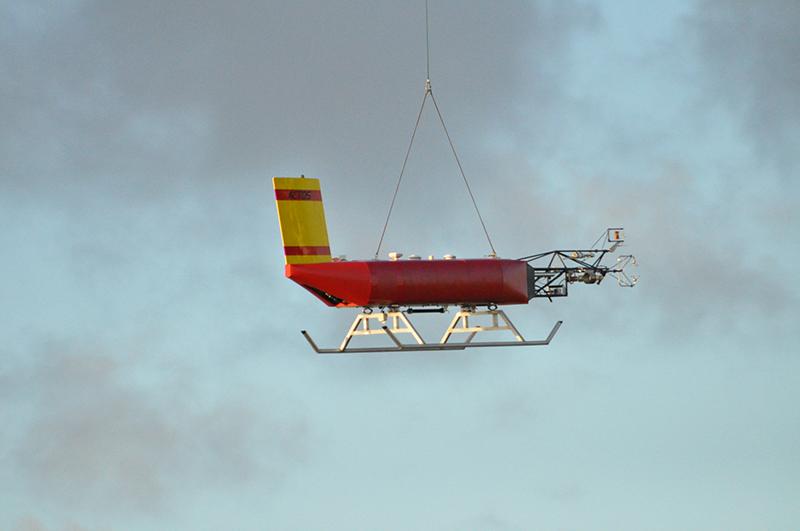 """Das """"Airborne Cloud Turbulence Observation System"""" ACTOS kommt auch auf den Azoren zum Einsatz. Foto: Holger Siebert, TROPOS"""