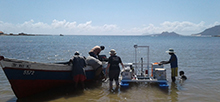 Zentrale Messkampagne von MarParCloud auf den Kapverden. Foto: TROPOS