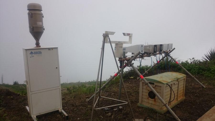 MarParCloud: Messgeräte auf dem Monte Verde. Foto: TROPOS