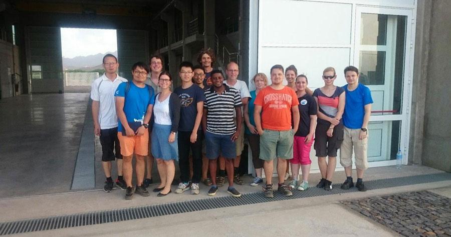 Das MarParCloud-Team am Ocean Science Centre Mindelo (OSCM). Foto: TROPOS