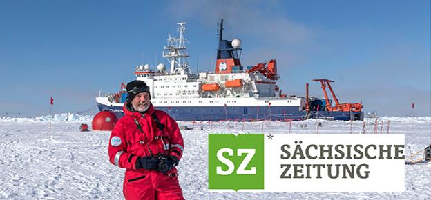 """18:00-24:00 Multimediapräsentation """"Eiszeit"""" von Stephan Schön (Sächsische Zeitung)"""